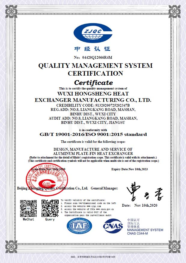 ISO9001: 2015